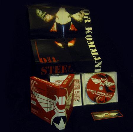Komor Kommando - Oil, Steel & Rhythm CD