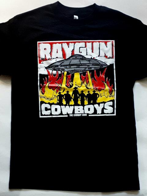 Raygun Cowboys - Cowboy Code T-Shirt
