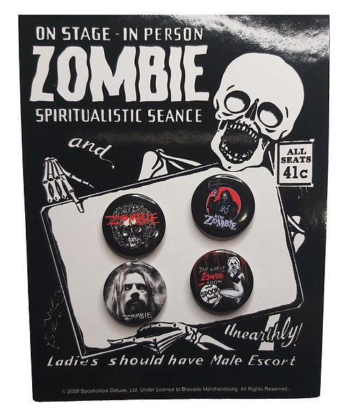 Rob Zombie - Pin Pack
