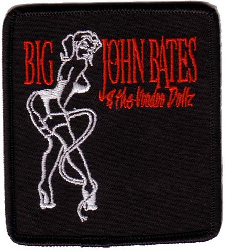 Big John Bates - Kitten Embroidered Patch