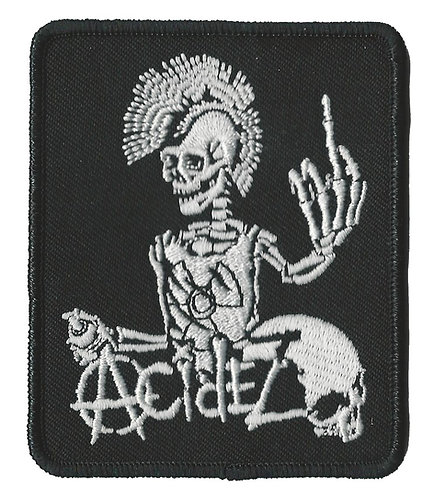 Acidez - Finger Embroidered Patch