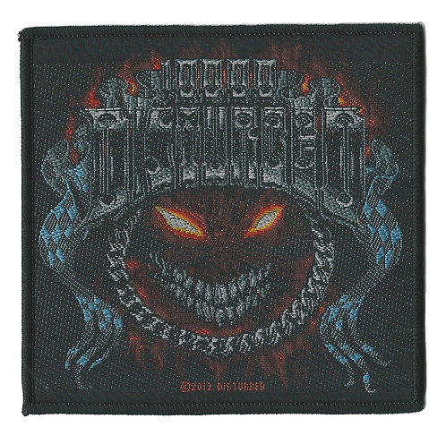 Disturbed - Chrome Smiley Woven Patch