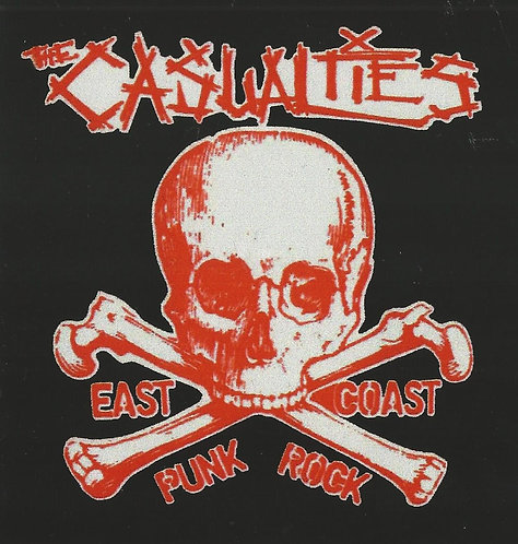 The Casualties - East Coast Punk Rock Sticker