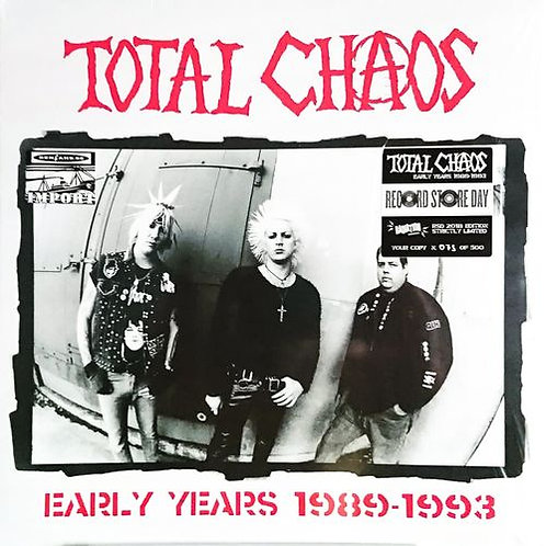 Total Chaos - Early Years 1989-1993 LP