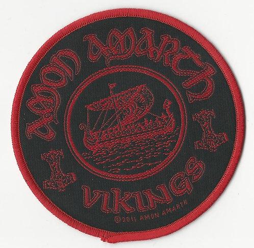 Amon Amarth - Viking Ship Woven Patch