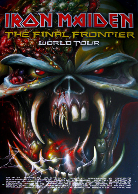 Iron Maiden - The Final Frontier Poster