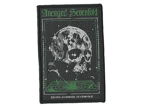Avenged Sevenfold - Vortex Skull Woven Patch
