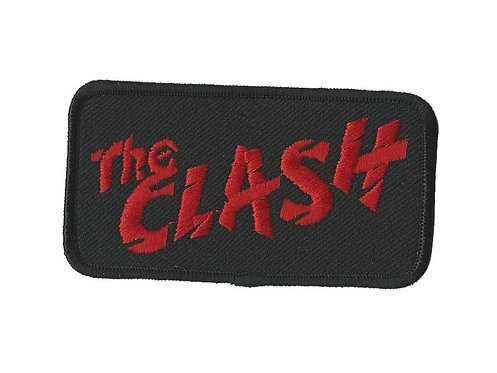 The Clash - Red Logo Embroidered Patch