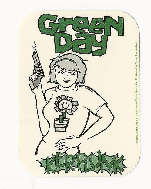 Green Day - Kerplunk Mini Sticker