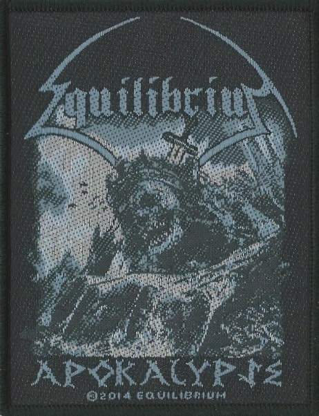 Equilibrium - Apokalypse Woven Patch