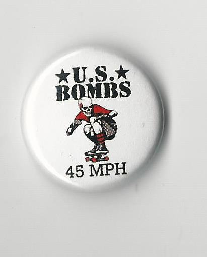 U.S. Bombs - 45 Mph Pin