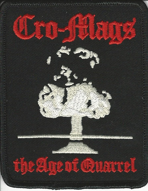 Cro-Mags - The Age of Quarrel Patch