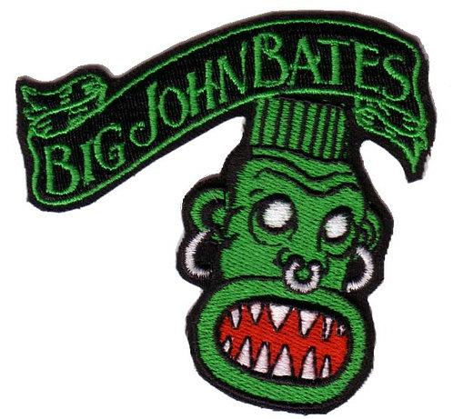 Big John Bates - Tikiman 1 Embroidered Patch