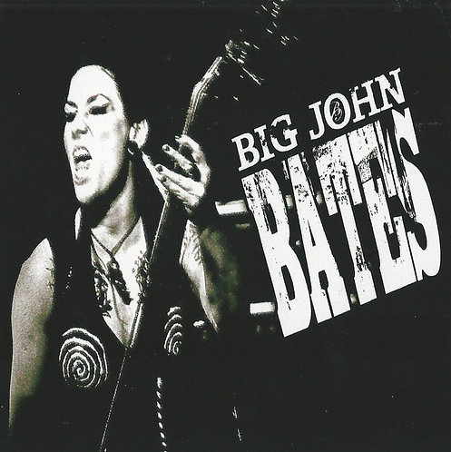 Big John Bates - Bass Sticker