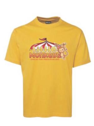 Little Monkeys Pre School Circus t shirt