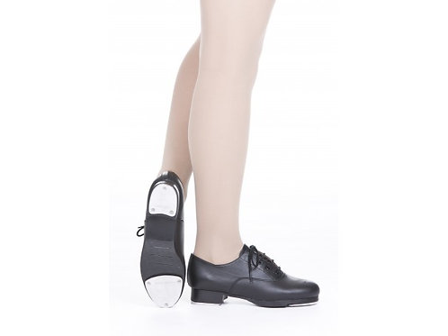 ADULT'S LEATHER LACE UP OXFORD TAP