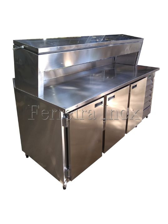 Balcão Make Table Inox
