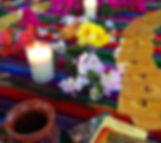 Cacao Ceremony Altar