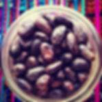 Cacao Beans, Keith's Ceremonial grade cacao beans, hand toasted cacao beans, hand peeled cacao beans