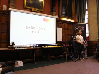 Leadership Workshop with Ella Simms: How not to give a f**k!