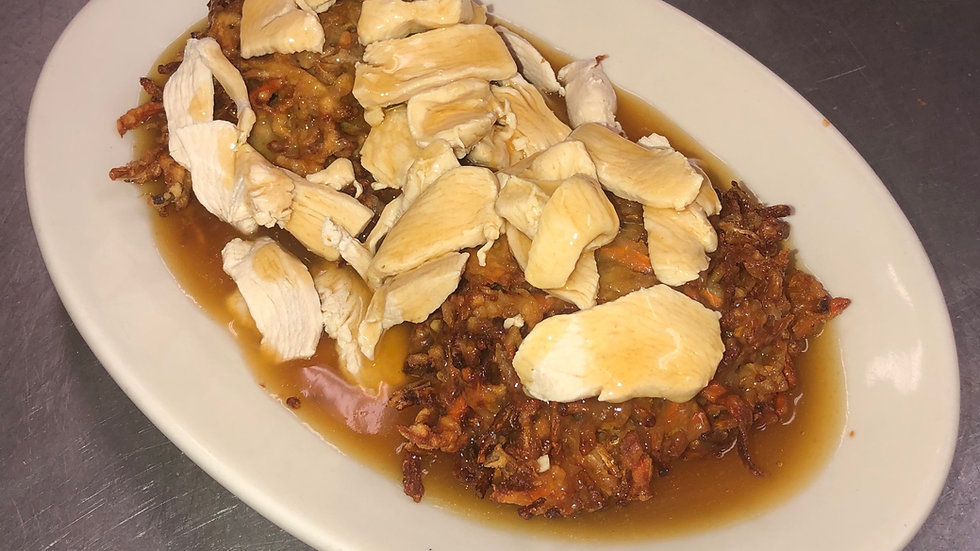 24. Chicken Egg Foo Young