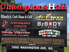 COVID-19 Update - Champions Hall Pickleball Play Stopped March 17-27