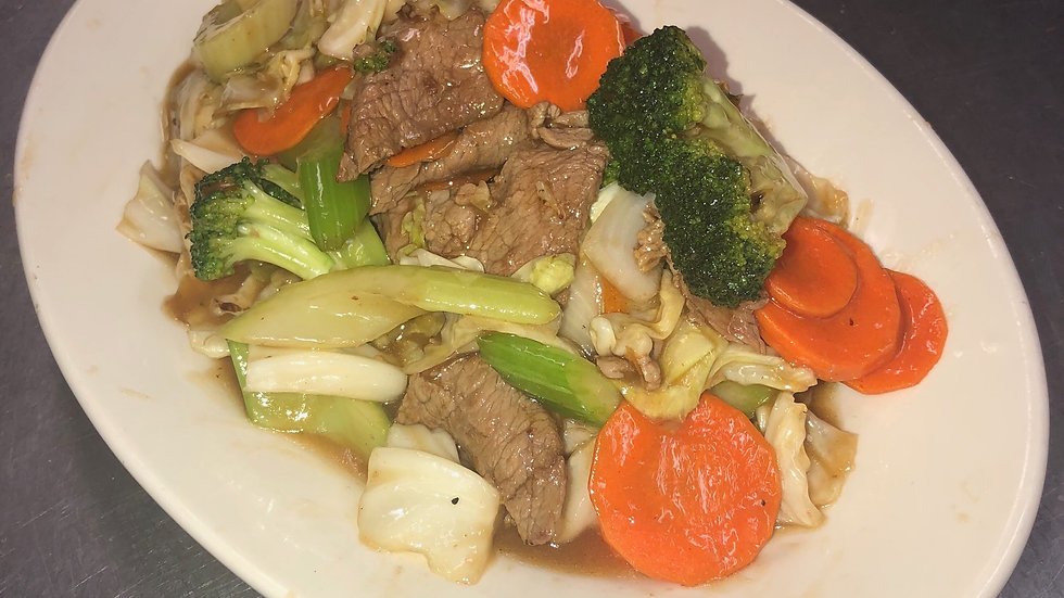 53. Beef with Mixed Vegetables