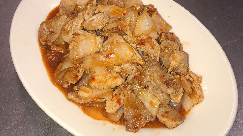 45. Hot & Spicy Pork