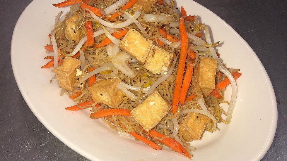 32. Tofu Lo Mein