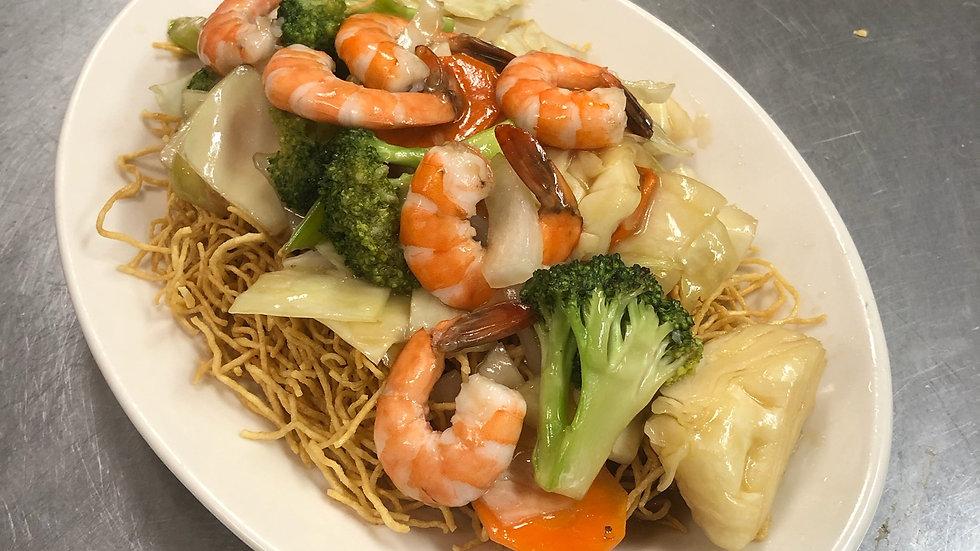 35. Shrimp Chow Mein