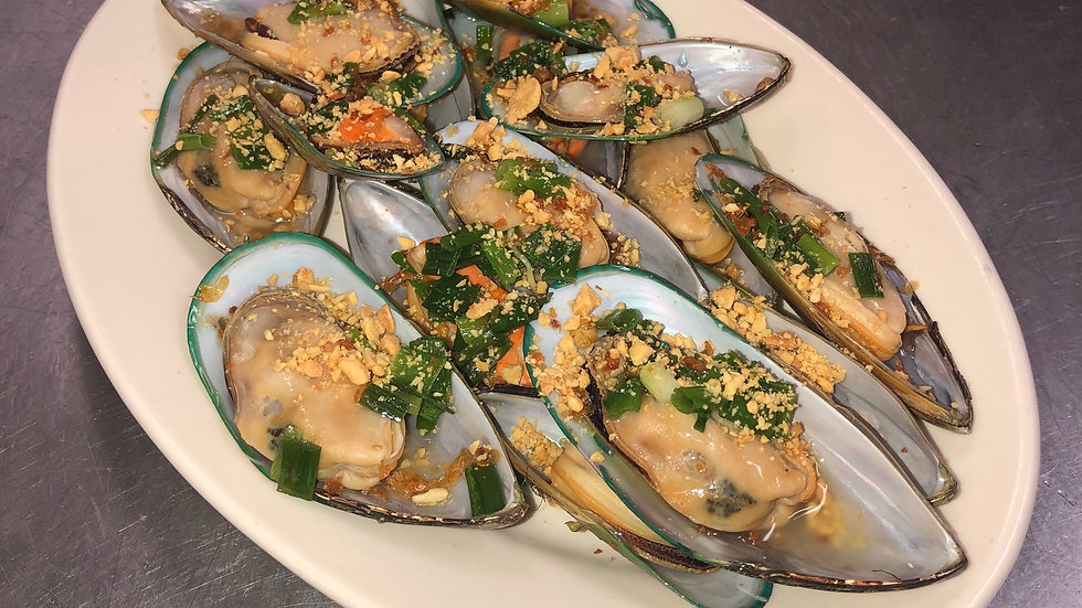 Steamed Mussels Classic Saigon Style
