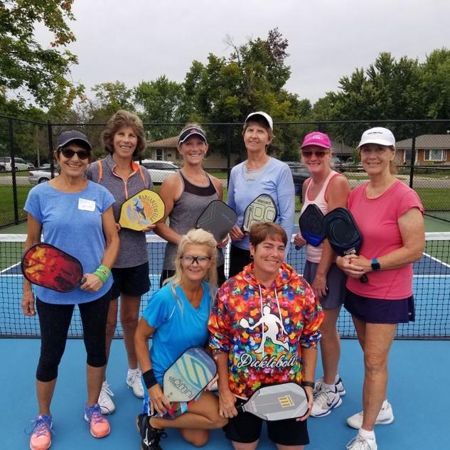 Women's Doubles Winners