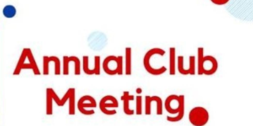 Annual Club Members Meeting