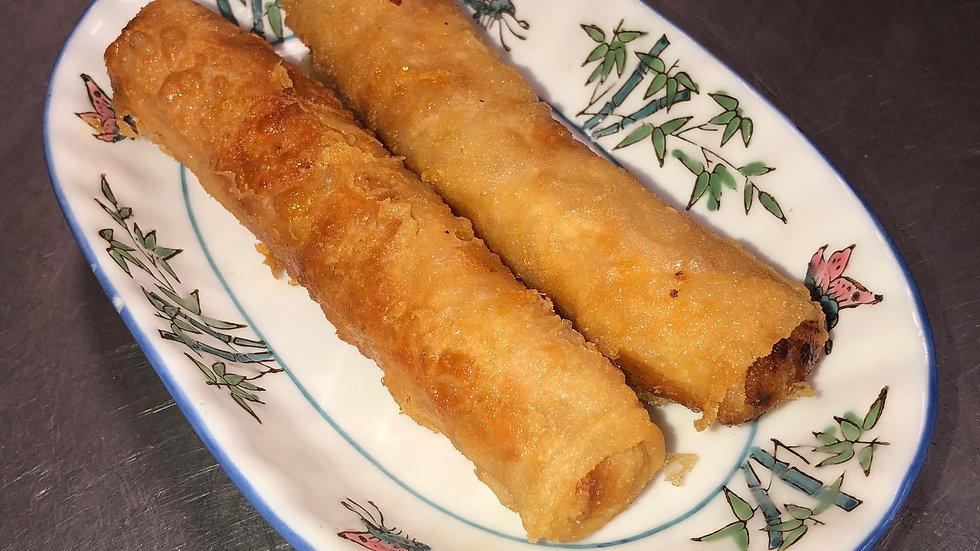 4. Vegetarian Egg Rolls