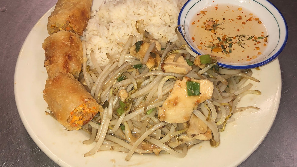 #5. Chicken with Bean Sprouts
