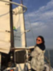 Alice on the boat in SF.JPG