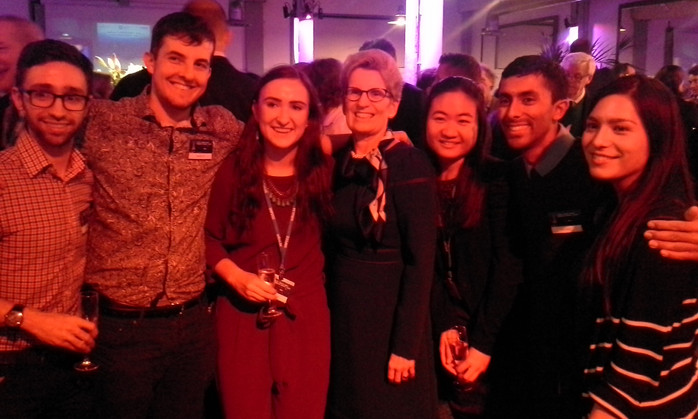 Alice and UofT delegates with Kathleen Wynne, former Premier of Ontario!