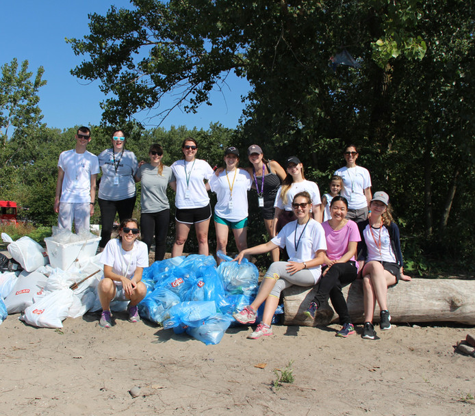 Woodbine Beach Cleanup 2019