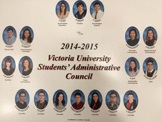 Victoria University Student Admin Council 2014-2015