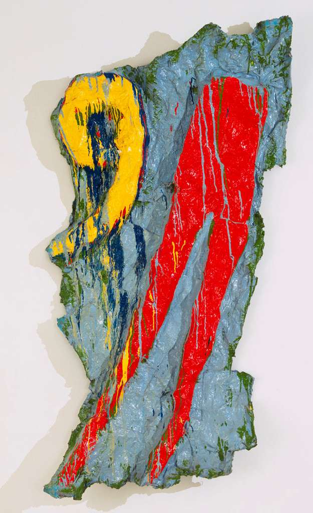 Claes Oldenburg, Red Tight with Fragments 9, MoMA NY