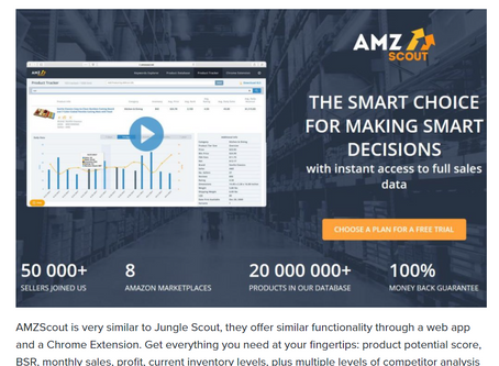 12 Best Amazon Sourcing and Research Tools for 2020
