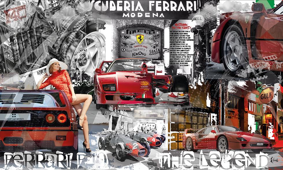 Ferrari F40 The Legend