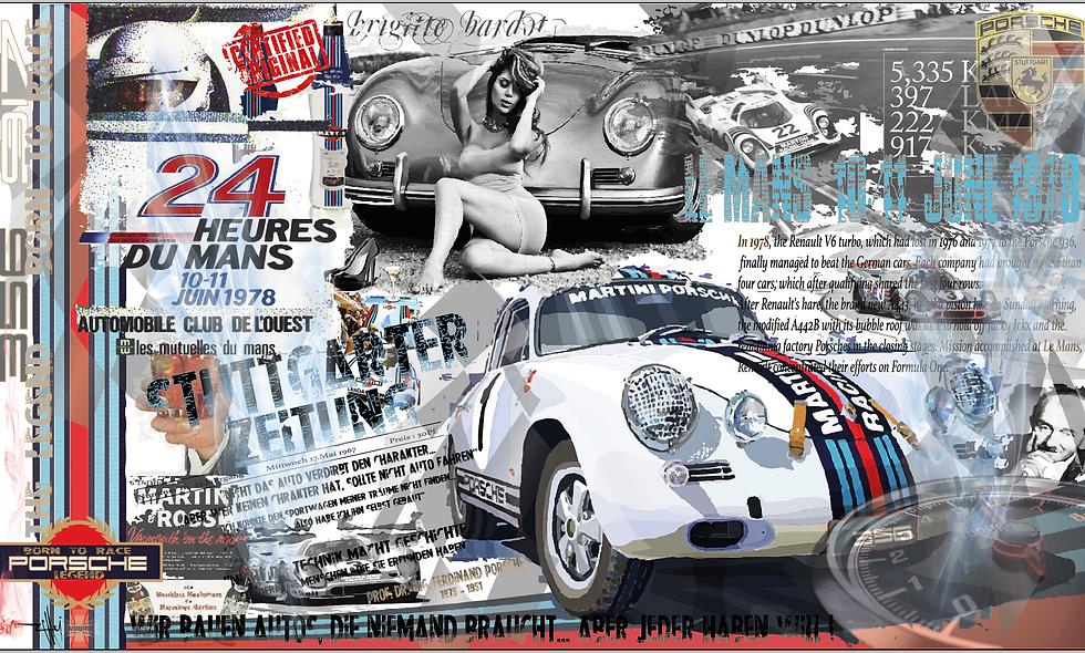 Porsche 356 Martini