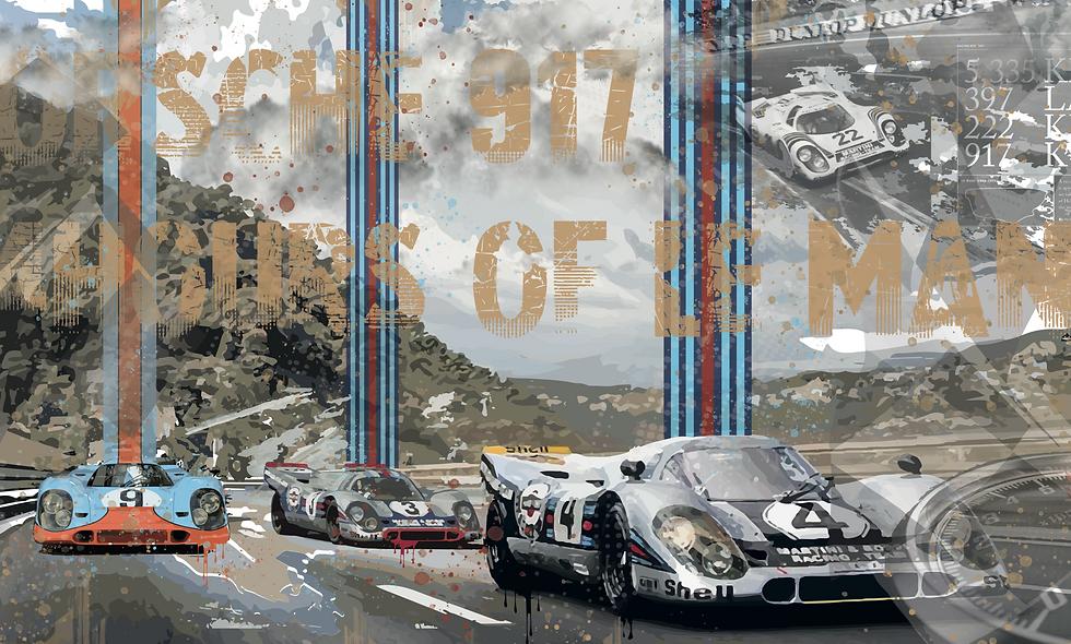 Porsche 917 24H Le Mans