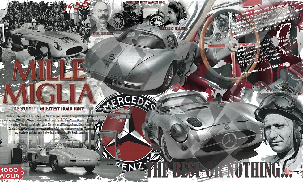 Mille Miglia by Mercedes