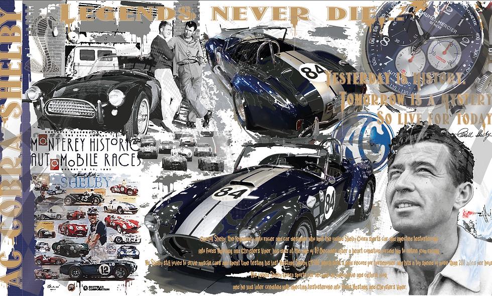 "Cobra Shelby ""Legends never die..."""
