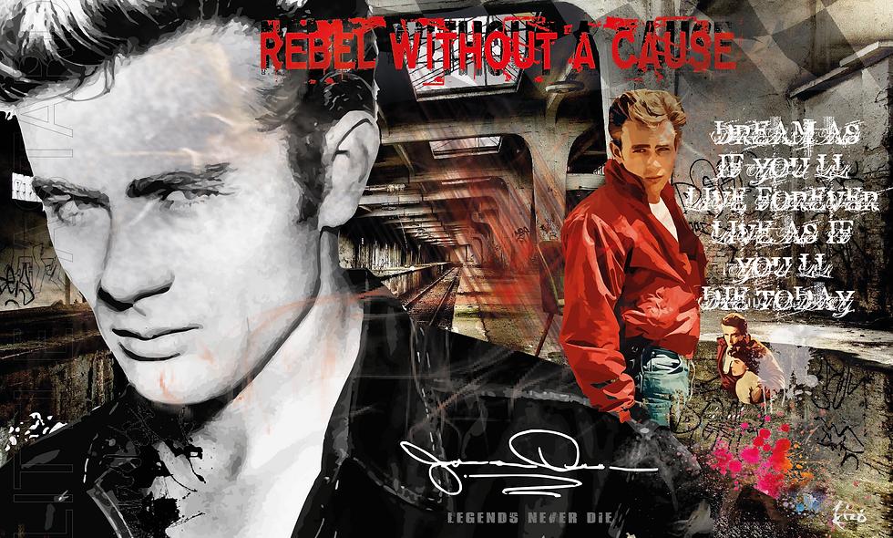 "James Dean ""Legends never die..."""