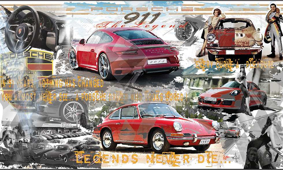 "Porsche 911 ""The Legend"""