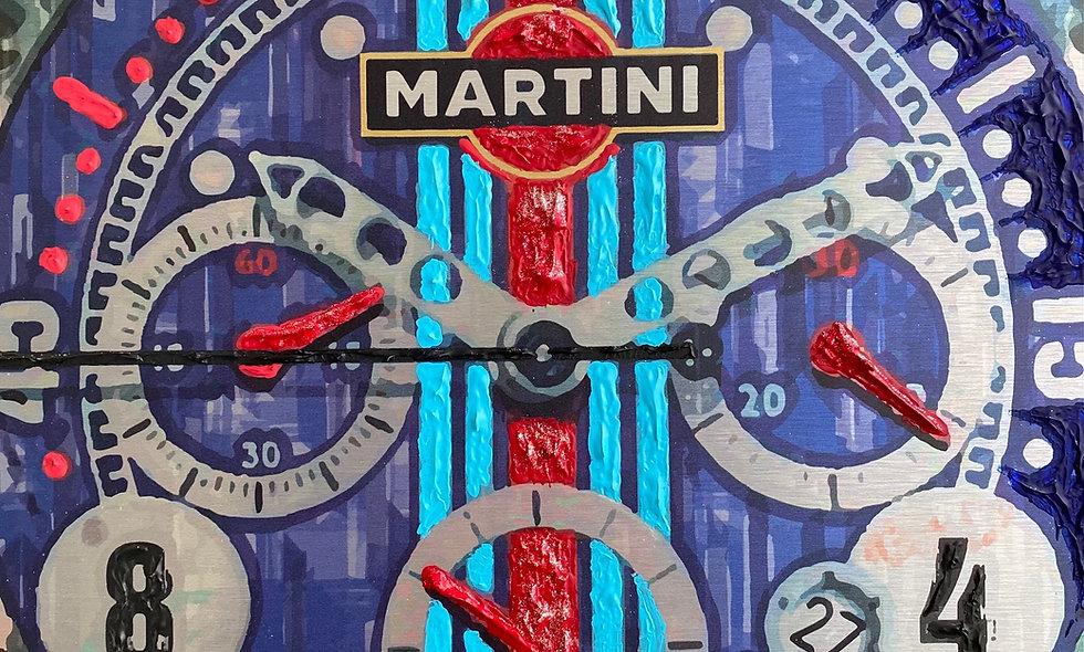 "Porsche RSR Martini ""Rock da Clock"""