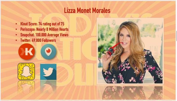 Lizza Monet Morales, Host